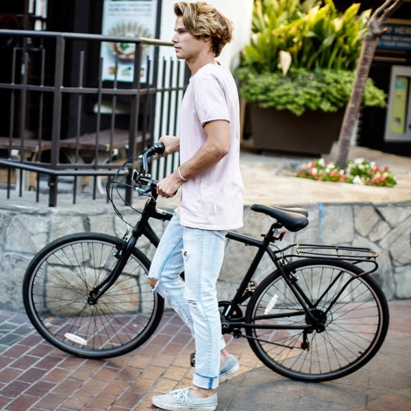 sixthreezero Explore Your Range Mens Hybrid Commuter Bicycle