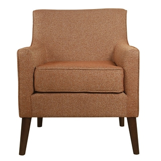 HomePop Davis Mid Century Accent Chair - Autumn Orange