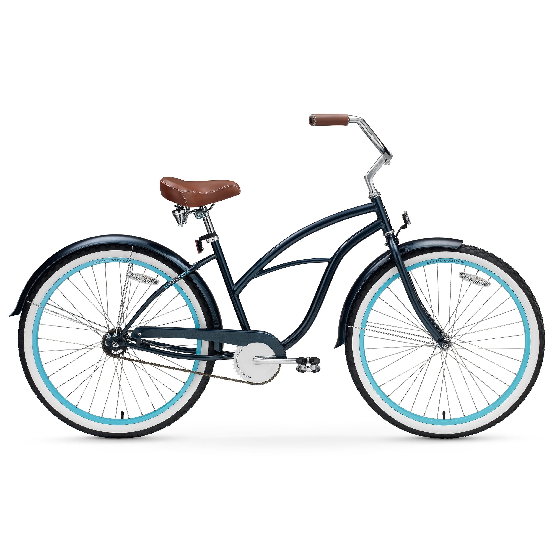 """SixThreeZero Classic Edition 7 Speed Women/'s 26/"""" Beach Cruiser Bicycle Bike NEW"""