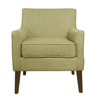 HomePop Davis Mid Century Accent Chair - Citron Green