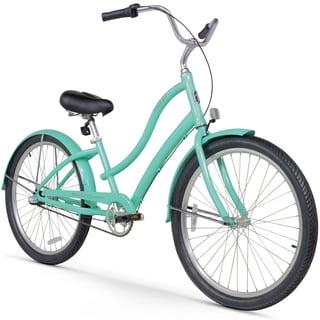"26"" Firmstrong Women's CA-520 Three Speed Beach Cruiser Bicycle, Mint Green"