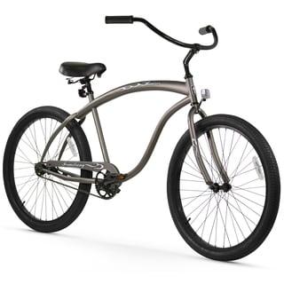 "26"" Firmstrong Bruiser Man Single Speed Beach Cruiser Men's Bicycle, Matte Grey"