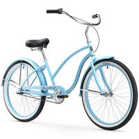 """26"""" Firmstrong Chief Lady Three Speed Beach Cruiser Bicycle, Baby Blue"""