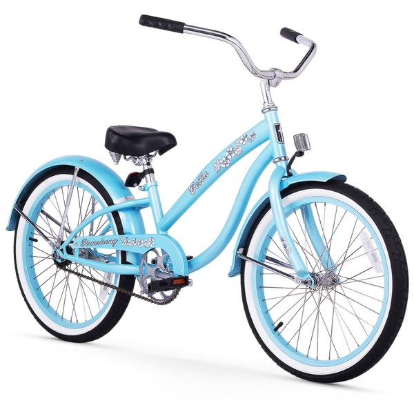 "20"" Firmstrong Bella Single Speed Girls' Cruiser Bicycle, Baby Blue"
