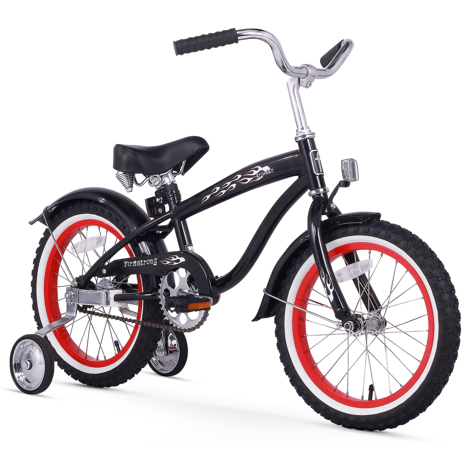 "16"" Firmstrong Bruiser Single Speed Boys' Bicycle with Tr..."