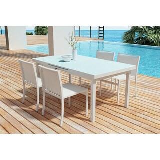 Zuo Mayakoba White Dining Table