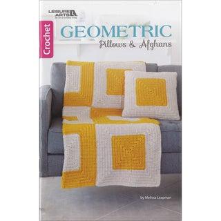 Leisure Arts-Geometric Pillows & Afghans