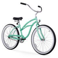 """26"""" Firmstrong Urban Lady Single Speed Women's Beach Cruiser Bike, Mint Green"""