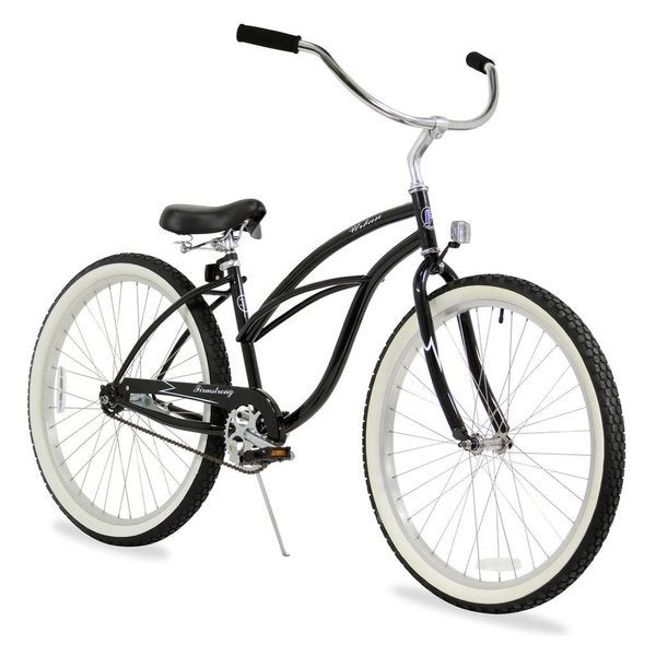 "26"" Firmstrong Urban Lady Single Speed Women's Beach Cruiser Bike, Black"
