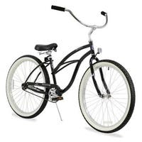 "26"" Firmstrong Urban Lady Single Speed Women's Beach Cruiser Bike, Black"