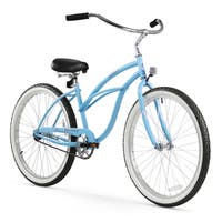 "26"" Firmstrong Urban Lady Single Speed Women's Beach Cruiser Bike, Baby Blue"