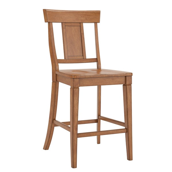 Eleanor Panel Back Wood Counter Chair (Set of 2) by iNSPIRE Q Classic - Free Shipping Today - Overstock.com - 22098534  sc 1 st  Overstock.com & Eleanor Panel Back Wood Counter Chair (Set of 2) by iNSPIRE Q ... islam-shia.org