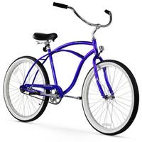 "26"" Firmstrong Urban Man Single Speed Beach Cruiser Bicycle, Royal Blue"