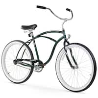 "26"" Firmstrong Urban Man Single Speed Beach Cruiser Bicycle, Emerald Green"