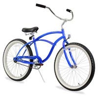"24"" Firmstrong Urban Man Single Speed Beach Cruiser Bicycle, Royal Blue"
