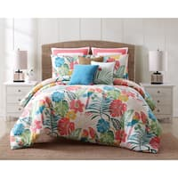 Oceanfront Resort Coco Paradise 3 Piece Cotton Duvet Set