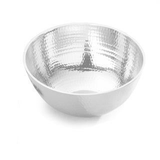 Towle Hammered Aluminum Large Serving Bowl