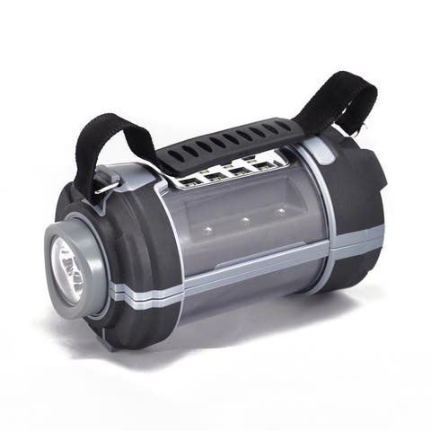 Epower 360 Black Widow Rechargeable 300 Lumen LED Lantern with Removable Flashlight