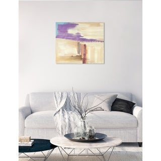 Oliver Gal 'SAI - Abstract Sunset' Canvas Art