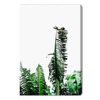 Oliver Gal 'Beverly Hills Palm Leaves by Cassandra Eldridge' Canvas Art
