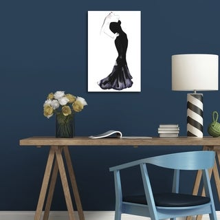 Oliver Gal 'Black Dress by Gill Bay' Canvas Art (More options available)