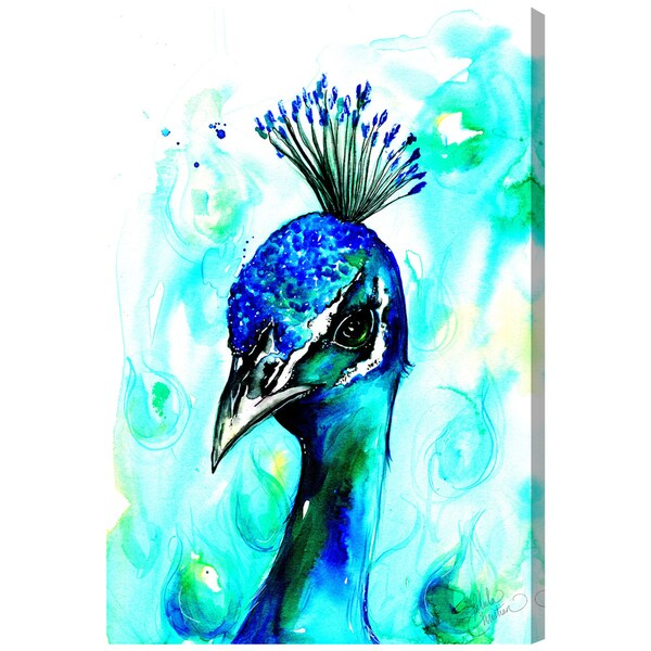 Shop Oliver Gal 'Bold and Beautiful by Talula Christian' Canvas Art