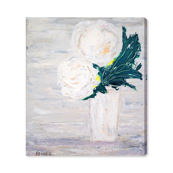 Oliver Gal 'Fleurs du Lumiere V by Claire Sower' Canvas Art