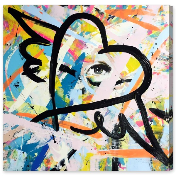 Oliver Gal 'Exhale by Tiago Magro' Canvas Art