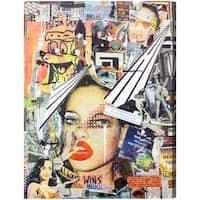 Oliver Gal 'Always Wins by Katy Hirschfeld' Canvas Art