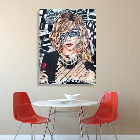 Oliver Gal 'Lollipop by Katy Hirschfeld' Canvas Art