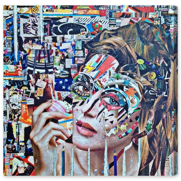 Oliver Gal 'Eos by Katy Hirschfeld' Canvas Art