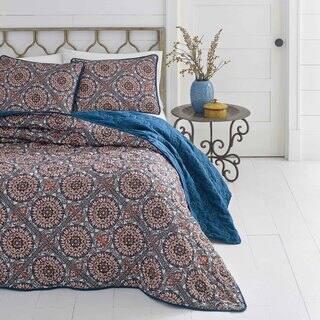 Azalea Skye Sitka Suzani Quilt Set|https://ak1.ostkcdn.com/images/products/15690473/P22115132.jpg?impolicy=medium