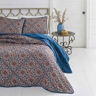 Azalea Skye Sitka Suzani Quilt Set (2 options available)