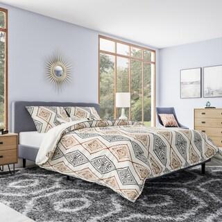 Carson Carrington Trondheim Bohemian Microfiber Comforter Set