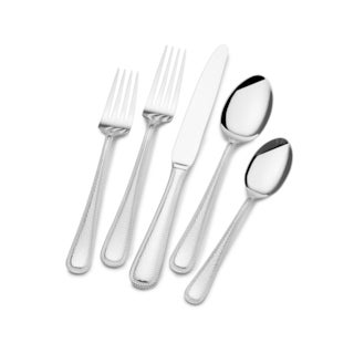 Towle Living Halifax Stainless Steel 50-piece Flatware Set