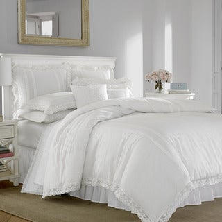 Laura Ashley Annabella White Duvet Set