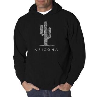 Los Angeles Pop Art Men's Hooded Sweatshirt - Arizona Cities