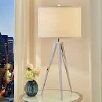 Medrano Silver Tripod Table Lamp iNSPIRE Q Modern