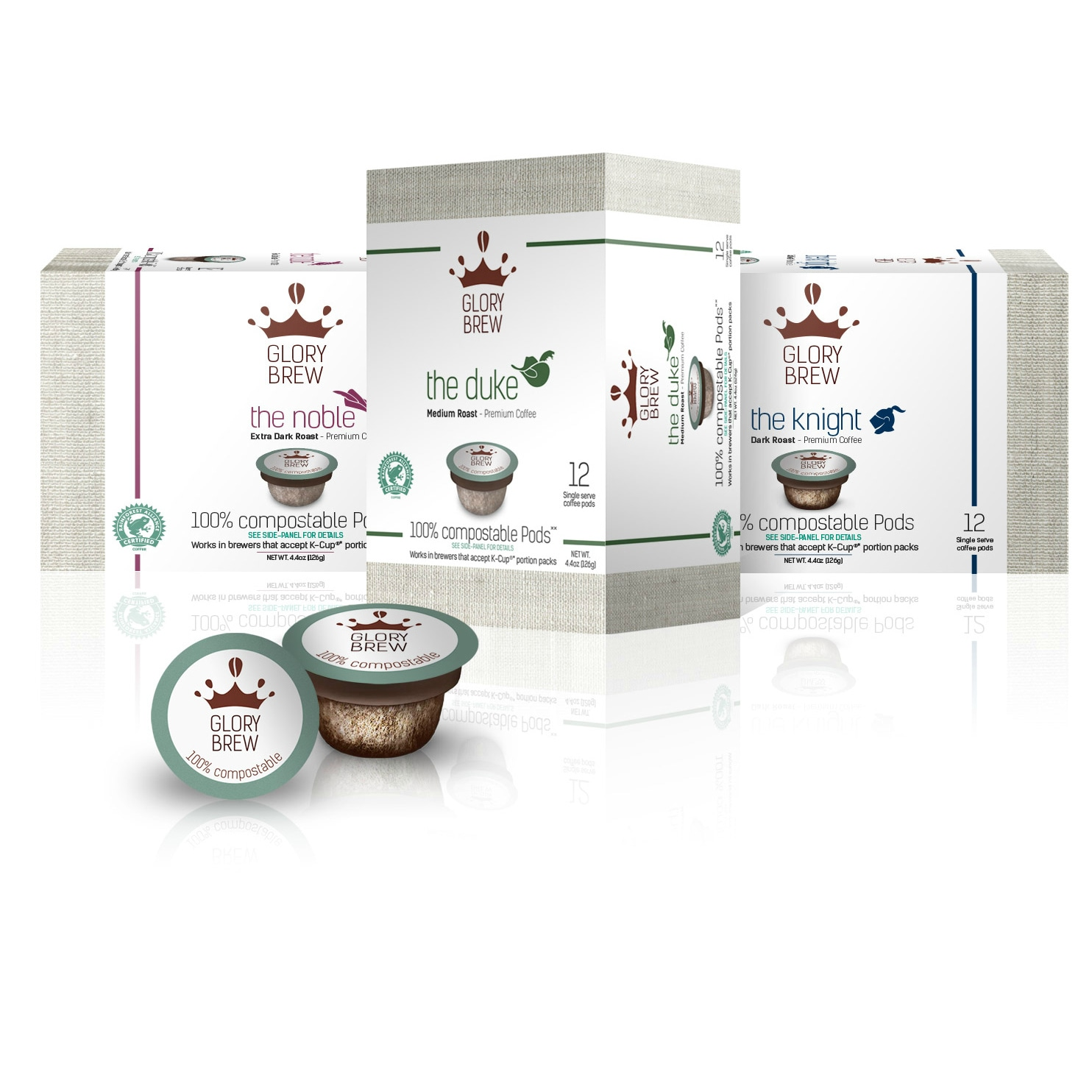 Glorybrew Variety Pack Coffee Pods for Keurig K-Cup Brewe...