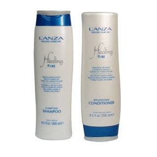 L'anza Healing Pure Clarifying Shampoo and Conditioner Duo