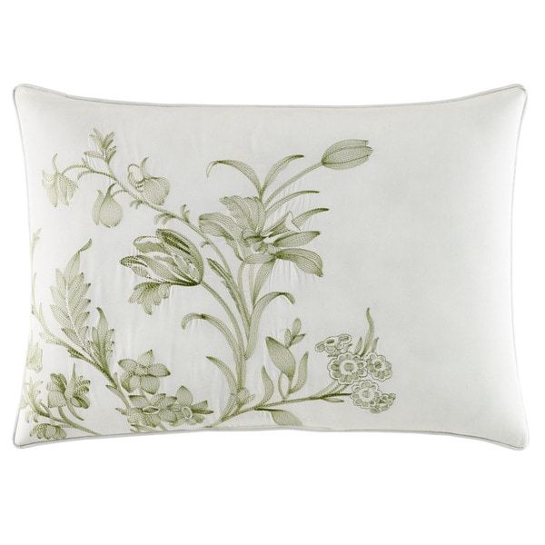 laura ashley natalie green comforter bonus set free shipping today