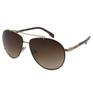 Women's Guess Sunglasses-6781/Frame - Gold/ Lens - Brown Gradient