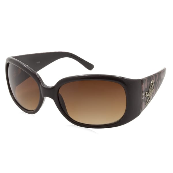 895355e71a44 Shop Women s Guess Sunglasses-7167 Frame - Brown  Lens - Brown - Free  Shipping Today - Overstock.com - 15730091