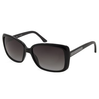 Women's Guess Sunglasses-7336/Frame - Black/ Lens - Grey Fade