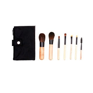 Crown 7-piece Mini Sable Makeup Brush Set | Overstock com Shopping - The  Best Deals on Makeup Brushes