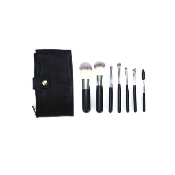Shop Crown 7-piece Mini Syntho Makeup Brush Set - Free Shipping On Orders  Over  45 - Overstock - 15744435 820a675d6fd3