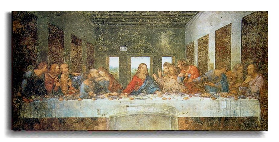 The Last Supper by Da Vinci Canvas Art - Thumbnail 1