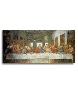 The Last Supper by Da Vinci Canvas Art