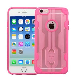 Insten Rose Gold/ Hot Pink Hard Snap-on Case Cover For Apple iPhone 6/ 6s
