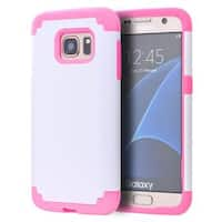 Insten Hard Snap-on Dual Layer Hybrid Case Cover For Samsung Galaxy S7